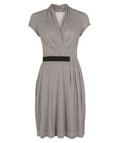 This simple cap sleeve wrap dress features an elastic waistline with an added flattering gathered waistline. This dress is both flattering and comfortable to wear t Casual Formal Dresses, Cap Sleeves, Work Wear, Wrap Dress, Party Dress, Dresses For Work, My Style, How To Wear, Dress Black
