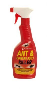 £0.99 - Pestshield Ant And Crawling Insect Killer 500ml Trigger Spray Suitable for the control of: - Ants - Cockroaches - Fleas And other crawling insects