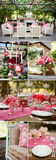 gorgeous inspiration #pink #tablescape