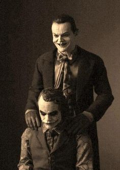 THE JOKERS  Who's the best?   Heath or Jack