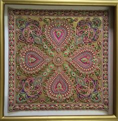 Damn! Awesome! Intricate quilling