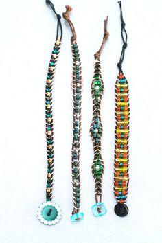 Learn how to make DIY Beaded Boho Bracelets