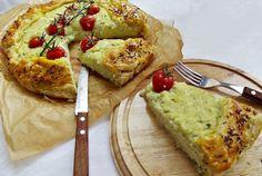 Retete Culinare - Placinta cu branza si dovlecel