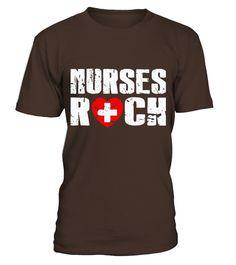 Nurses Rock T Shirt  Nurses Rock Shirt  Nurse T Shirt  Funny Nurse T-shirt, Best Nurse T-shirt