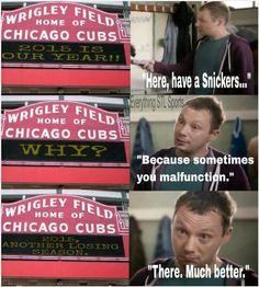 Cubs suck! Have A Snickers, Cardinals Shirts, Chicago Cubs, Never Give Up, Growing Up, Fan, Baseball Cards, Water, Gripe Water