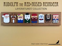 Rudolph the Red-Nosed Reindeer by TheCreativeCrowStore on Etsy