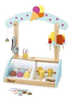 Juego cocina campestre de madera para niños niños juego cocina juguete cocina a partir de 3 J