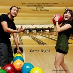 """#TogetherThursdays – """"Date Night"""" – Activities and #games are a great addition to #DateNight especially when you and your #SignificantOther are on the same #team as #camaraderie is a beautiful way to nurture a relationship. #Couples feel great when they 'win' together and it is #fun to strategize and 'talk trash' (friendly #competition) to the other teams. Also, a loss provides an opportunity to perfect your 'pep talk' and support for each other. Organize a game night with your friends…"""