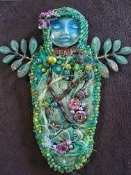 Afbeeldingsresultaat voor beaded spirit doll