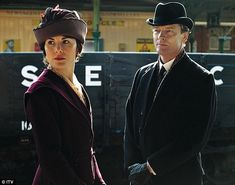 DOWNTON ABBEY SPECIAL: Look who's coming to dinner! As the horror ...