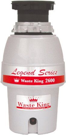 Waste King L-2600 Legend Series 1/2 HP Continuous Feed Operation Garbage Disposal - Amazon.com