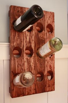 (Probably) a pretty simple, but unique wine rack