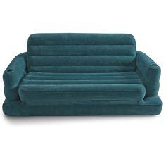 Deze sofa van Intex is een echte 2-in-1. Hij is geschikt voor twee personen en wordt eenvoudig omgetoverd tot een matras. Ideaal voor binnen en buiten! De Pull-Out sofa heeft comfortabele leuningen en is compact op te bergen. Heerlijk samen relaxen!