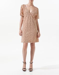 LACE DRESS - Dresses - Woman - ZARA United States