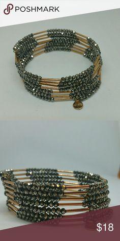 Stella & Dot slinky bracelet Multicolored slinky wrap bracelet from Stella & Dot. Stella & Dot Jewelry Bracelets