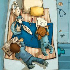 Nivea Tales/Games by illustrator Joelle Tourlonias: http://tales.nivea.com/de/