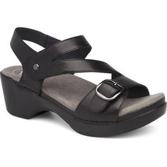 online shopping for Dansko Women's Shari Flat Sandal from top store. See new offer for Dansko Women's Shari Flat Sandal Sport Sandals, Strappy Sandals, Leather Sandals, Buy Shoes, Me Too Shoes, Dansko Shoes, Black Shoes, Black Leather, Ladies Sandals