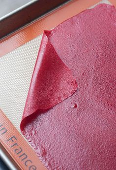 Homemade Raspberry Fruit Leather by Tracey's Culinary Adventures, via Flickr