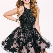 Stun the Crowd in Jovani Style 42215 Available at WhatchamaCallit Boutique