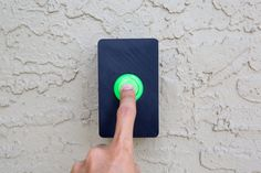 Arcade Button Door Bell by pixil3d.