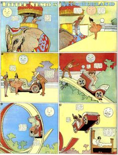 A digital library of classic comic strips, featuring Winsor McCay's Little Nemo and George Herriman's Krazy Kat Voitures Hot Wheels, Little Nemo In Slumberland, History Of Illustration, Old Comic Books, Cincinnati Art, Old Comics, Classic Comics, Animation Film, Public Art