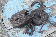 Castle Lock And Keys