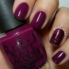 OPI James Bond Collection Casino Royale with Julep Betty Fall mani.