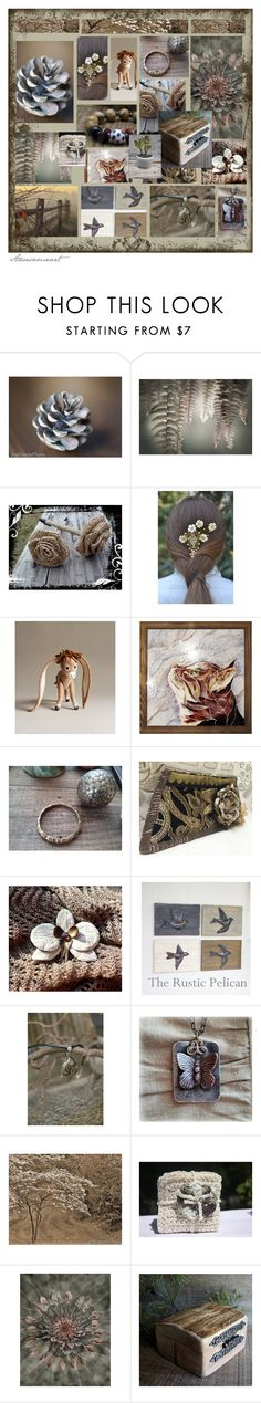 """Wonder in Nature"" by andreadawn1 ❤ liked on Polyvore featuring Bambo and WALL"