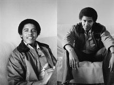 Young Barak Obama