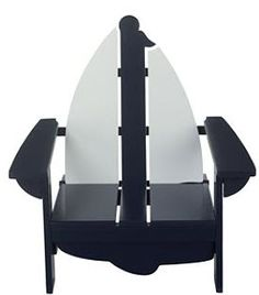 Adirondack Sailboat Chair- - Brought to you by Williams Group of Pelican Real Estate. See more properties on our Facebook page http://www.Facebook/NWFloridaForeclosures  Twitter @FL_REO_Sales , and on our webpage http://www.WilliamsGroupRealEstate.com
