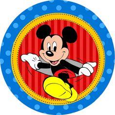 OLÁ AMIGAS!   Hoje iremos postar um lindo kit enviado pela nossa amiga arteira Paula Fonseca .   O ratinho mais amado das crianças, o Mickey...