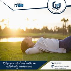 #GalaxyRoyale is situated in the lap of nature. Click on www.thegalaxygroup.com to book your space. .#TheGalaxyGroup #GalaxyNorthAvenue #GalaxyVega #GalaxyGreenArcade #GalaxyShoppe