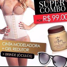 zpr ABAIXOUUU 😍😱😱 Cinta Modeladora R$59,90 + Gel redutor hinode R$99 no kit especial📢📢 PROMOÇÃO COMPROU🎁GANHOU! Na compra de qualquer produto vc ganha um óculos👓! 📢📢 NAS COMPRAS ACIMA DE R$300 o FRETE É GRÁTIS 👏🏽👏🏽 VENDAS DIRETAS PELO SITE: WWW.ESPACOCALIFA.COM.BR  #espacocalifa #summer #ss #fashion #ecommerce #online #lojaonline #style #urban #moda #trend #trendalert #sutia #promocao #sale #topmagico #varejo #vendas #vendasonline #clothes #look #lookdodia #cintamodeladora #shop…