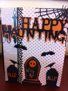 Another Kathy Orta inspired Halloween scrapbook.