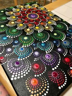 Simple And Easy Gond Painting Designs For Art Lovers art painting 40 Simple And Easy Gond Painting Designs For Art Lovers - Free Jupiter Mandala Art, Mandala Canvas, Mandala Painting, Mandala Design, Gond Painting, Dot Art Painting, Canvas Painting Designs, Fabric Paint Designs, Fabric Painting