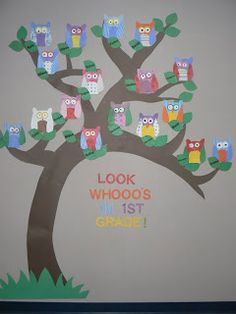 Mrs. T's First Grade Class: Look Whooo's In First Grade