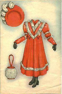 """Louise"" by Helen Page | Gabi's Paper Dolls"