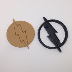 The Flash Cookie Cutter 3D Printed by BoeTech on Etsy, $8.75
