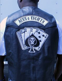 "Aces & Eights ""Vest"" 