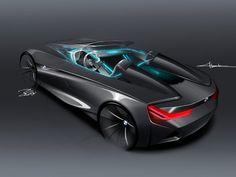 BMW Vision ConnectedDrive Concept Design Sketch
