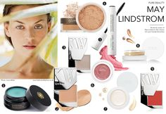 May Lindstrom shares fashion models organic & natural make-up favourites including RMS Beauty, Kjaer Weis, Ilia, W3LL People, Alima Beauty / An exclusive interview with May Lindstrom, founder of May Lindstrom Skin, line of organic skincare loved my fashion models and fashion insiders via www.fashionedbylove.co.uk british fashion blog