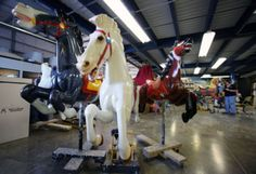 The restoration is nearly complete! Mark your calendar for 11.23.14 - the day the Euclid Beach Park Carousel will open and ready to ride!