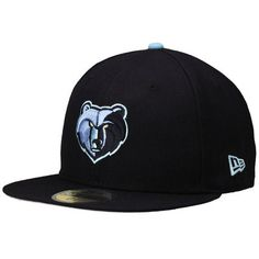 Memphis Grizzlies New Era Current Logo 59FIFTY Fitted Hat - Navy Blue Memphis  Grizzlies 95bd0c6627d
