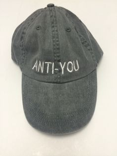 anti you please dont talk to me washed out grey baseball cap cotton… Dope Hats, Dad Caps, Things To Buy, Headpiece, Spring Fashion, Bad Hair Day, Trending Outfits, My Style, Cute Outfits