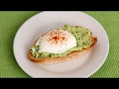 Avocado Toast with Poached Egg Recipe| Laura in the Kitchen