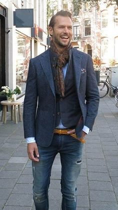 How To Rock Business Casual Attire For Men With Balance.