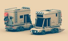https://www.behance.net/gallery/Low-Poly-Vehicles/11915049