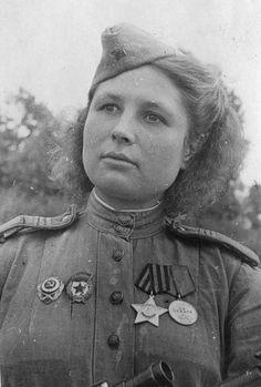 Best Soviet Female Snipers Of WWII  Julia Belousova killed 80 fascists.