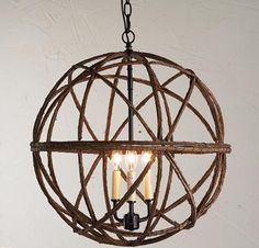 All of the Lights   Shades of Light   Twig Orb, Sphere Chandelier