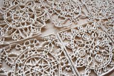 jessica pezalla: clay lace
